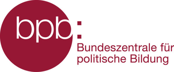 Das Förderlogo der Bundeszentrale für politische Bildung